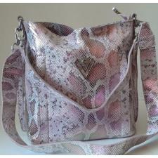Кожаная женская сумка Polina & Eiterou 119N Розовый