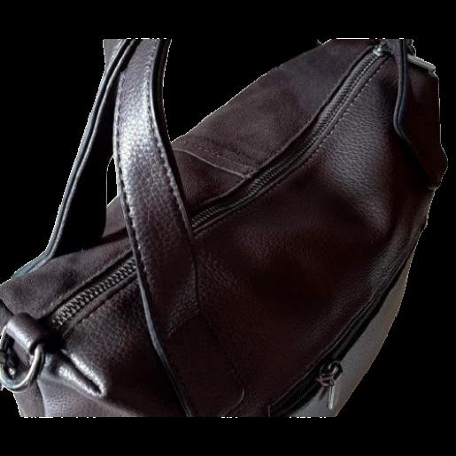 Женская сумка из натуральной замши VF78Н Коричневый