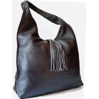 Женская кожаная сумка на плечо коричневая 902N-1