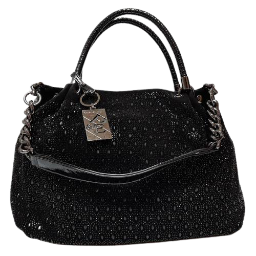 Женская сумка из замши Polina & Eiterou 201N Черный