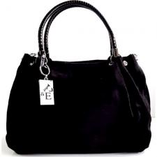 Кожаная сумка женская из замши Polina & Eiterou Q194N