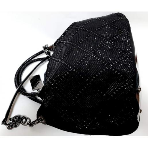 Женская сумка из замши Polina & Eiterou Q192N Черный