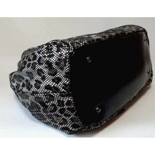 Женская кожаная сумка черная 890N-1