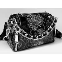 Женская сумка кожаная крос-боди питон 624N-6