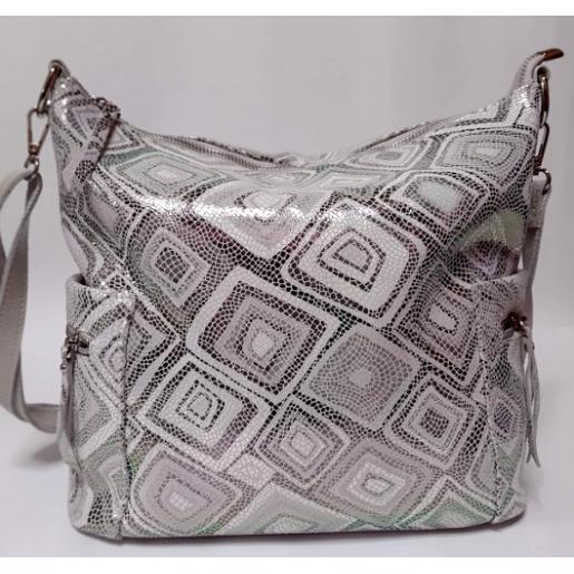 Женская кожаная сумка 299N beige