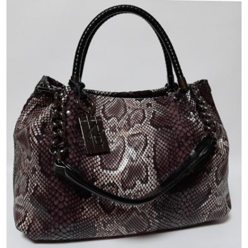 Женская кожаная сумка Q503N Коричневый