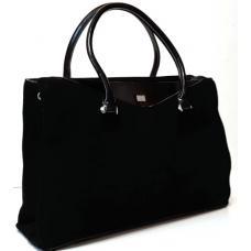 Женская сумка из замши VF53Н Черный