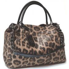 Женская кожаная сумка бежевая Polina & Eiterou Q210-5N