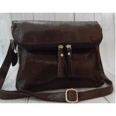 Женская сумка кожаная 41N Коричневый