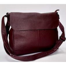 Женская сумка-мессенджер бордовая Bee Bag 307N