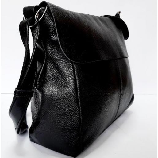 Женская сумка-мессенджер черная Bee Bag 308N