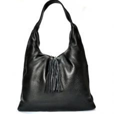 Женская кожаная сумка XL 306N black