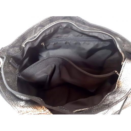 Женская кожаная сумка FR-342N graphite