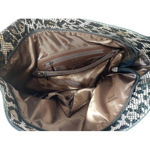 Женская сумка из натуральной кожи 43N Белый