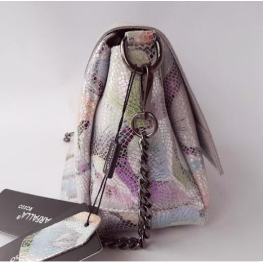 Женская кожаная сумка Flowers 300N-1Микс