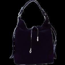 Женская сумка из замши VF191N Черный