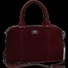 Женская замшевая сумка VF140N Burgundy