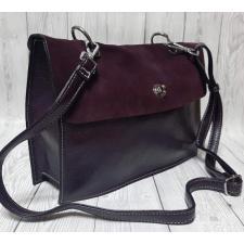 Женская сумка из кожи Polina & Eiterou 24Н Бордовый