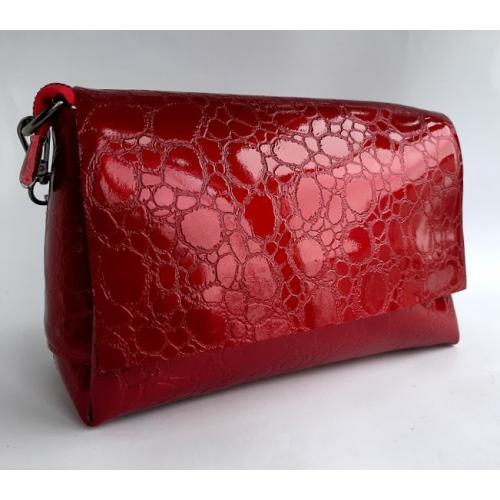 Женский кожаный клатч 856N-1 Красный
