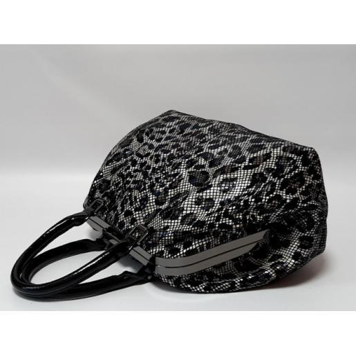 Женская кожаная сумка ридикюль питон Polina & Eiterou 331N