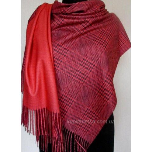 Женский палантин из кашемира 95Т3 Красный