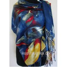 Женский палантин из кашемира KT207-9 Разноцвет
