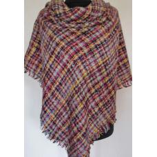 Женский теплый платок KT208-7 Разноцвет