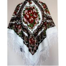 Женский украинский платок Роксолана 406TK-1 Белый