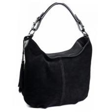 Женская замшевая сумка DO229-1 Черный