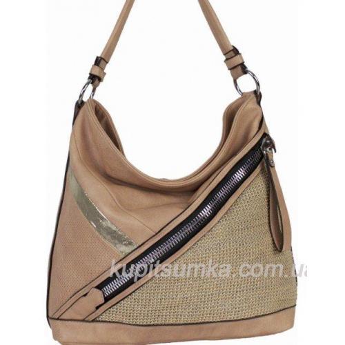 Женская сумка из кожзаменителя 71D02 Pink