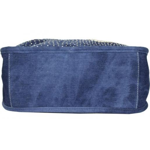 Сумка женская из джинсовой ткани 60D-39