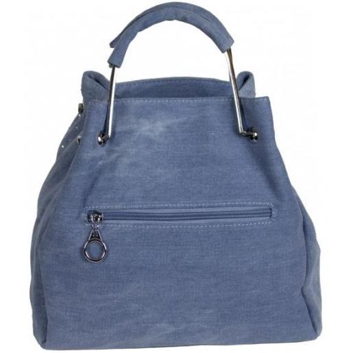 Женская сумка из джинсовой ткани 191D Голубой