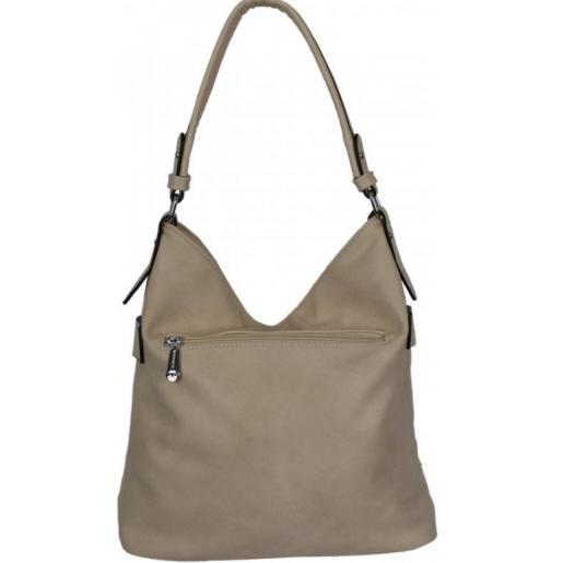 Женская сумка из кожзаменителя 7D211 Бежевый