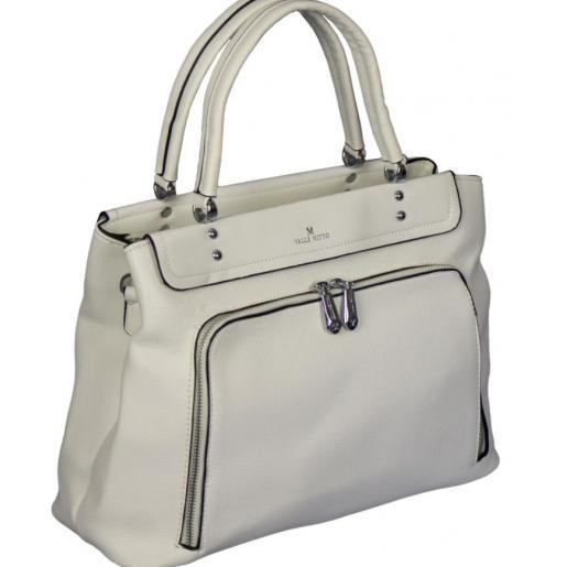 Женская сумка из кожзаменителя 86D877-34 White