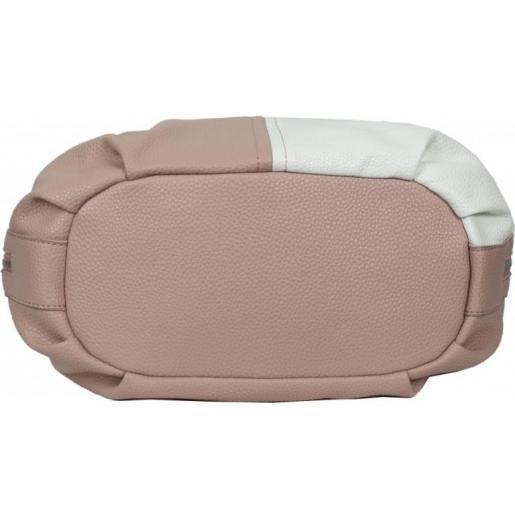 Женская сумка из кожзаменителя 12D393 Pink
