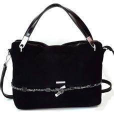 Женская замшевая сумка VF133N Черный