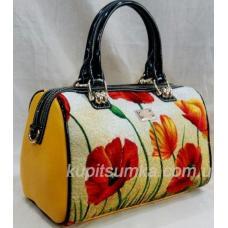 Женская сумочка из кожзаменителя 69U923 Желтый