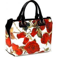 Женская сумка из кожзаменителя 18087U-1 Белый