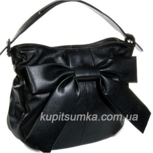 Женская сумка из кожи R57U002 Черный