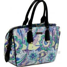 Женская сумка из кожзаменителя 34U56-23 Синий