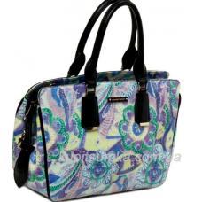 Женская сумка из кожзаменителя Синий