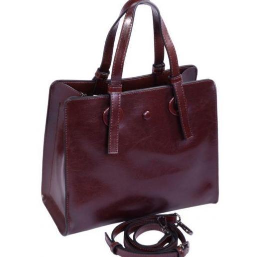 Женская сумка из натуральной кожи Коричневый