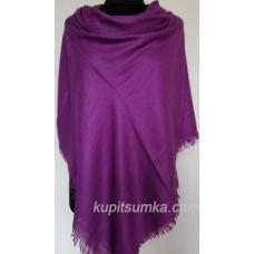 Тёплый однотонный платок для женщин 29Т5