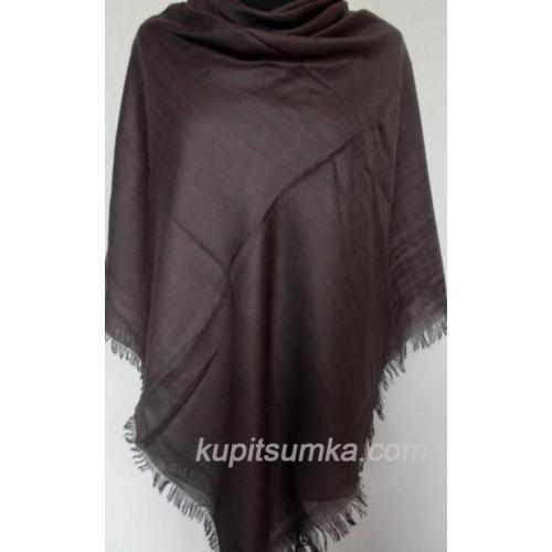 Тёплый однотонный платок для женщин 29Т6