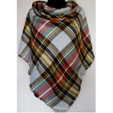 Женский теплый платок Cashmere KT198-8