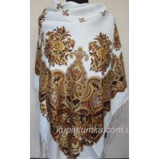 Украинский белый платок Казачка